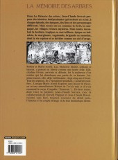 Verso de La mémoire des arbres -1a06- La hache et le fusil - tome 1