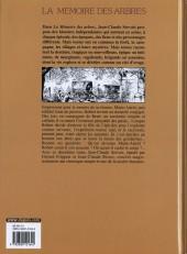 Verso de La mémoire des arbres -2a04- La hache et le fusil - tome 2