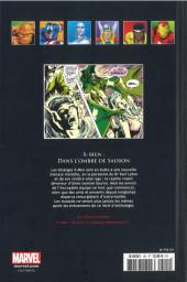 Verso de Marvel Comics - La collection (Hachette) -101XIV- X-Men - Dans l'Ombre de Sauron