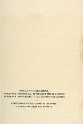 Verso de Arthur le fantôme justicier (Cézard, divers éditeurs) -1- Pistoles en stock