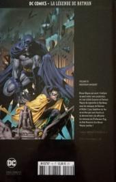 Verso de DC Comics - La légende de Batman -1046- Nouveaux Masques