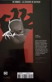 Verso de DC Comics - La légende de Batman -1143- Le Gant Noir