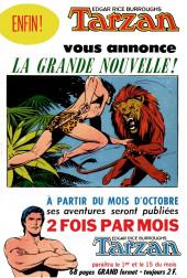 Verso de Tarzan (2e Série - Sagédition) (Vedettes T.V.) -54- La bataille sous l'orage