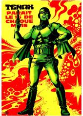 Verso de Tenax -50- La colère des mutants