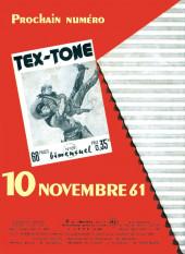 Verso de Tex-Tone -108- Tex-Tone et le sénateur