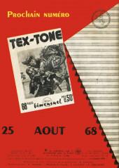 Verso de Tex-Tone -270- Bon dimanche !