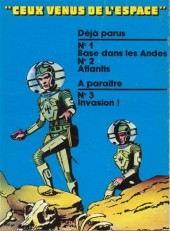 Verso de Ceux venus de l'espace -1- Base dans les Andes