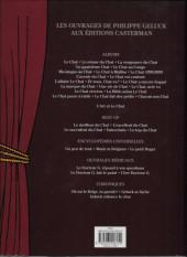 Verso de Le chat -16a17- Le chat, acte XVI