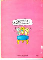 Verso de Walt Disney (Hachette et Edi-Monde) - Les Aristochats