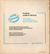 Verso de Aline et Nicolas -2- Une histoire pour Aline et Nicolas