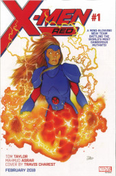 Verso de Phoenix Resurrection: The Return of Jean Grey (2017) -3- Chapter Three: A Constellation of them All