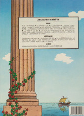 Verso de Alix -7b1985- Le Dernier Spartiate