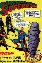Verso de Superman l'homme d'acier puis Superman et Batman (1re Série Interpresse) -1- Superman l'homme d'acier