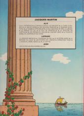 Verso de Alix -16a1984- La tour de Babel