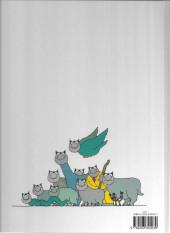 Verso de Le chat -2a87a- Le Retour du Chat