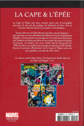 Verso de Marvel Comics : Le meilleur des Super-Héros - La collection (Hachette) -52- La Cape et l'Epée