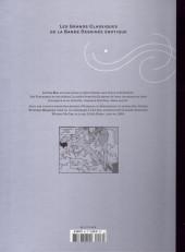 Verso de Les grands Classiques de la Bande Dessinée érotique - La Collection -4669- Little Ego