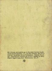 Verso de BD Climax -1- Vihila