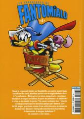 Verso de Picsou Magazine Hors-série Collector -9- Les chroniques de Fantomiald n° 4