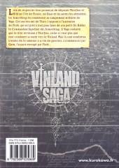 Verso de Vinland Saga -19- Tome 19