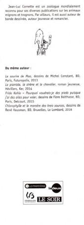 Verso de (AUT) Cornette - Les lémuriens - L'encyclopédie des brols et des machins super vrais