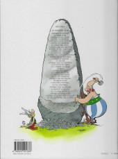 Verso de Astérix (Hachette) -1b2008- Astérix le Gaulois