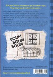 Verso de Journal d'un dégonflé -6- Carrément claustro !