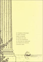 Verso de Alix -INT02- Les Premières Aventures - Recueil 2