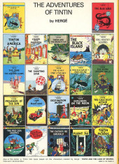 Verso de Tintin (The Adventures of) -13b84- The seven Crystal Balls
