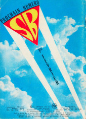 Verso de Super Boy (2e série) -113- Panique à Deal Valley