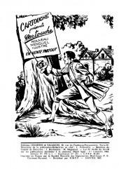 Verso de Robin des bois (Jeunesse et vacances) -5- Les 4 as - Rocambole évente la mèche