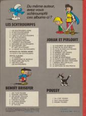 Verso de Les schtroumpfs -3b80- La Schtroumpfette