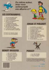 Verso de Les schtroumpfs -6b83 Nov- Le cosmoschtroumpf