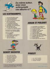 Verso de Les schtroumpfs -10a1981- La soupe aux Schtroumpfs