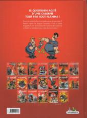 Verso de Les pompiers -9a18- Feu à volonté !