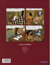 Verso de Le chat du Rabbin -2a03- Le malka des lions