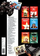 Verso de Spirou et Fantasio -39Fête- Spirou à New York