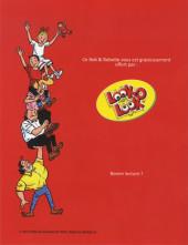 Verso de Bob et Bobette (Publicitaire) -Look1- La tante tantante