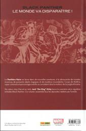 Verso de Black Panther (Marvel Vintage) - Le monde va disparaitre !
