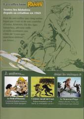 Verso de Rahan - La Collection (Altaya) -4- L'arc du ciel - la bête plate - les hommes aux jambes lourdes