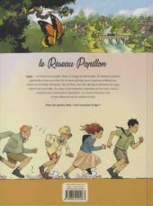 Verso de Le réseau Papillon -1- Aux arts, citoyens !