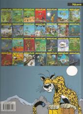 Verso de Marsupilami -4c14- Le pollen du Monte Urticando