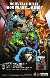 Verso de Batman - Récit Complet (DC Presse) -5- Nightwing : Premiers pas à Blüdhaven