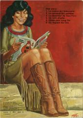 Verso de Archie Cash -3a80- Le déserteur de Toro-Toro