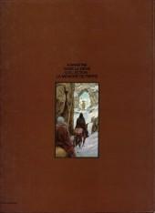 Verso de Le moine fou - Tome 1