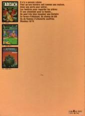 Verso de Moebius œuvres complètes -2a82- L'Homme est il bon ? Arzach