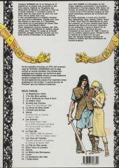 Verso de Thorgal -12a92- La cité du dieu perdu