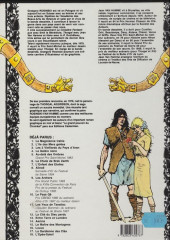 Verso de Thorgal -11a92- Les yeux de Tanatloc
