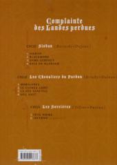 Verso de Complainte des Landes perdues -7a2015- La Fée Sanctus