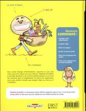 Verso de Pour les nuls en BD -8- Devenir végétarien pour les nuls en BD